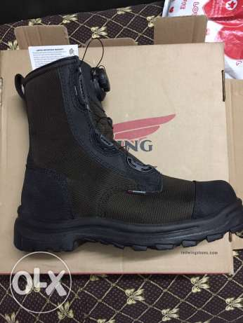 Redwing waterproof safety boots