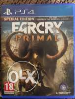 farcry 4 & farcry primal PS4 for sale