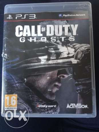The last of us +Call of duty Ghosts PS3 الإسكندرية -  2