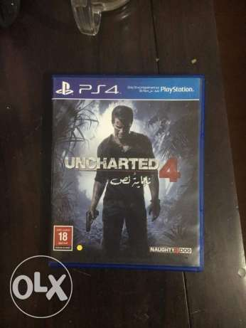 Uncharted 4 arabic edition