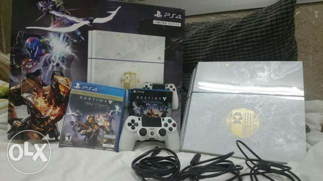 Ps4 used with Destiny the taken king