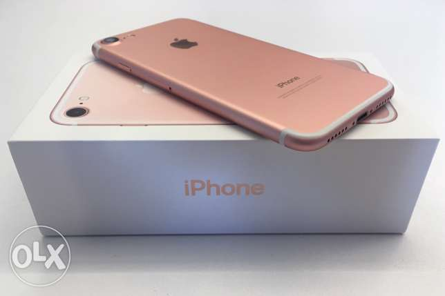 New iPhone 7 ( 32 GB ) - Rose Gold